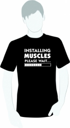 Installing muscles, please waith