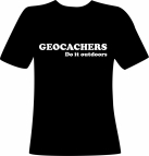 Geocachers do it outdoors